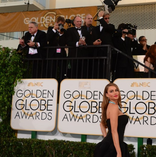 Sofia Vergara na Golden Globe awards