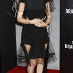 Rooney Mara at arrivals for THE GIRL WITH THE DRAGON TATTOO
