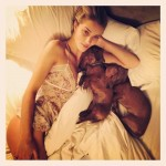 Model Rosie Huntington-Whiteley instagram