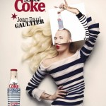 diet coke, jean paul gaultier, кока-кола, жань поль готье