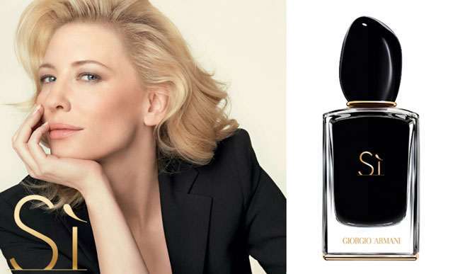 cate blanchett, armani, si, fragrance, кейт бланшетт, армани