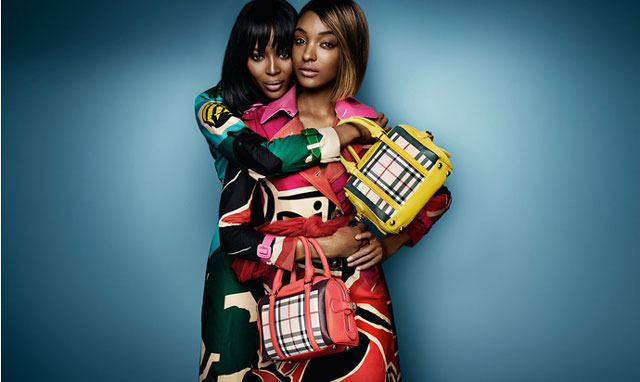 burberry, naomi_campbell, new collection, наоми кэмпбелл