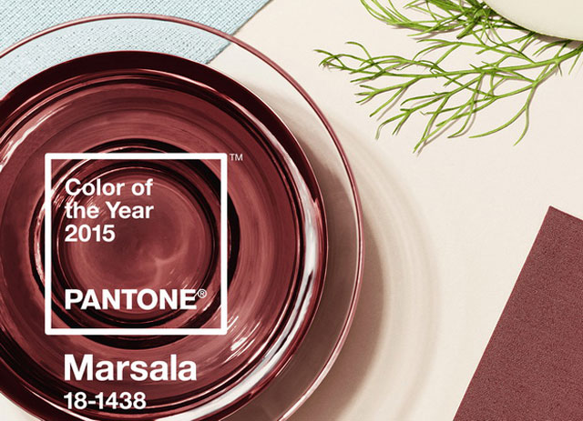 Pantone Color Institute, Pantone, marsala, цвет года, марсала