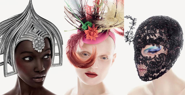 philip treacy, mac, филип трейси, шляпки, косметика