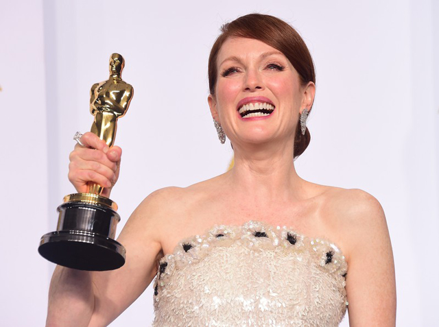 Julianne Moore, Джулианна Мур, оскар, церемония, награждение, победители, фильм, номинация