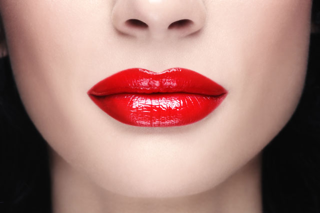 red lipstick, lips, красная помада, губы