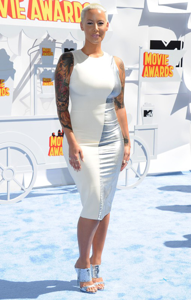 Amber Rose, Эмбер Роуз, mtv movie awards, церемония, премия, победители, лос-анджелес, кино, роль, фильм