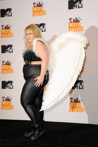 Rebel Wilson, Ребел Уилсон, mtv movie awards, церемония, премия, победители, лос-анджелес, кино, роль, фильм