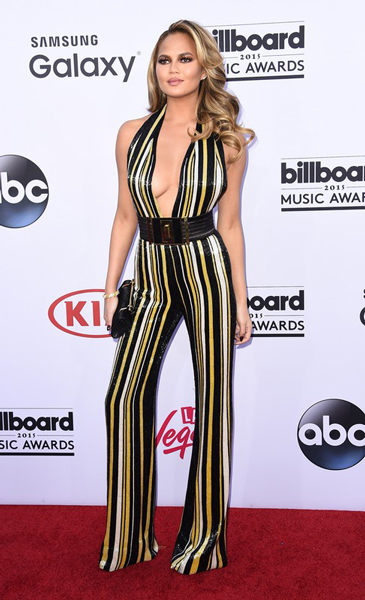 Крисси Тейген, Chrissy Teigen, Billboard Music Awards, церемония, премия, музыка