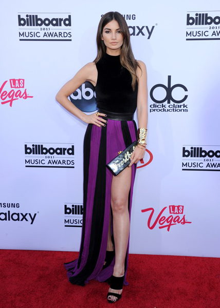 Lily Aldridge, Лили Олдридж, Billboard Music Awards, церемония, премия, музыка