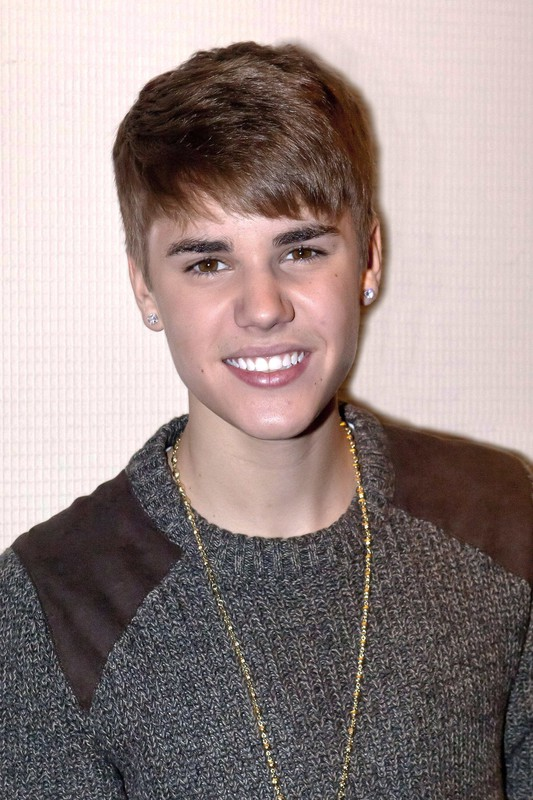 Justin Biber during his fleeting visit to Madrid, in an entertaining stop along to the television program 'The Anthill'. Pictured: Justin Bieber
