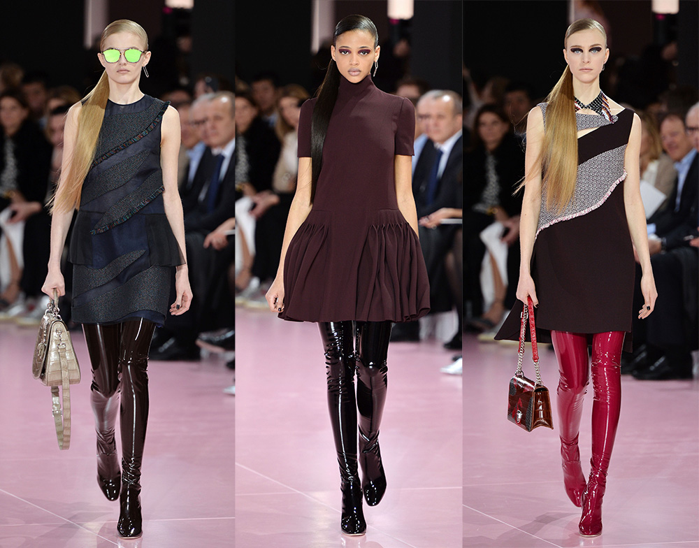 CHRISTIAN DIOR Ready to wear fall winter 2015-16 Paris fashion week march 2015 PHOTO: EAST NEWS / ZEPPELIN