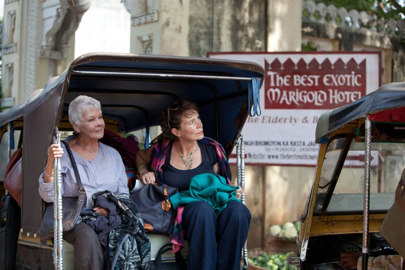 The Best Exotic Marigold Hotel, Judi Dench