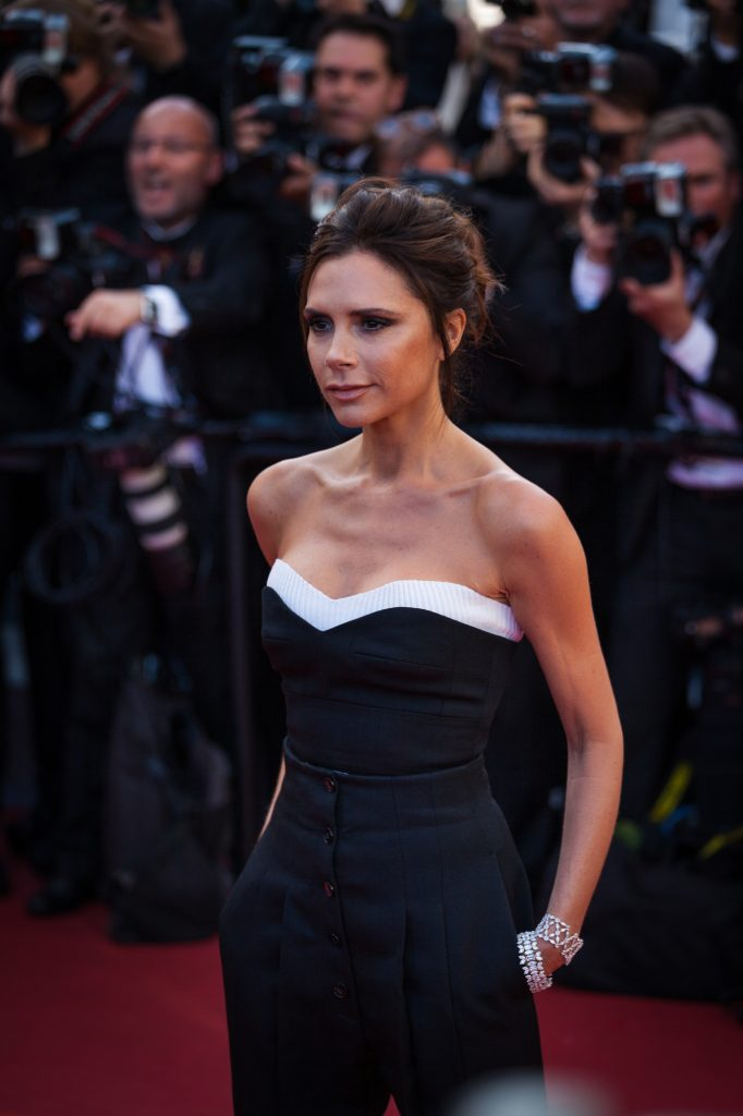 Cannes, France - 11 MAY 2016 - Victoria Beckham attends the screening of 'Cafe Society' at the opening gala of the annual 69th Cannes Film Festival at Palais des Festivals